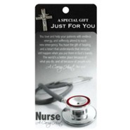 Nurse A Caring Heart Lapel Pin