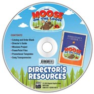 Camp Moose on the Loose: Director's Resource CD