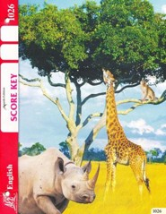 English PACE SCORE Key 1026, Grade 3 (4th Edition)