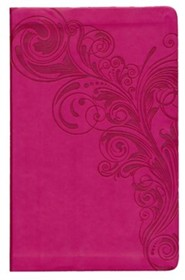 Imitation Leather Pink Book Thumb Index