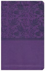 Imitation Leather Purple Book
