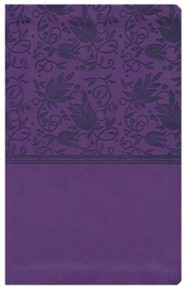 Imitation Leather Purple Book Thumb Index