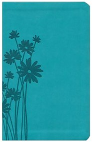 Imitation Leather Teal Book