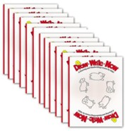 Pack of 12 Draw Write Now Student Workbooks