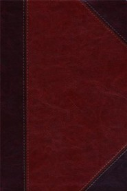 Imitation Leather Brown Large Print Book Classic