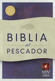 NTV Biblia del Pescador, tapa suave, caja de 12 libros, NTV Fishers of Men Bible, Trade Paper Case of 12