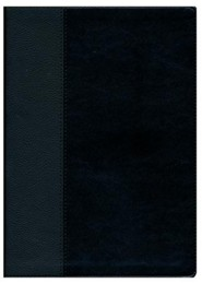 Imitation Leather Black Large Print Book