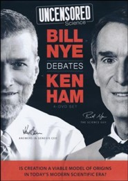Uncensored Science: Bill Nye Debates Ken Ham DVD Set (4 DVDs)