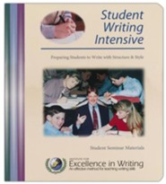 IEW Student Writing Intensive Level C Student Materials