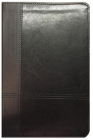 Imitation Leather Black Book Black Letter two-tone
