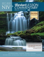 NIV Standard Lesson Commentary 2017-2018 Deluxe Edition