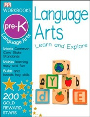 DK Workbooks: Language Arts Grade Pre-K