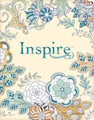 NLT Inspire Bible: The Bible for Creative Journaling, Softcover