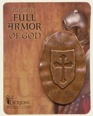 Full Armor of God Pocket Stone, Shield