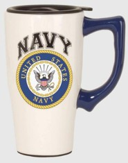 Navy Travel Mug