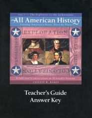 All American History, Vol. 1: The Explorers to the Jacksonians, Teacher's Guide