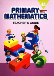 Primary Mathematics Teacher's Guide 4A (Standards Edition)