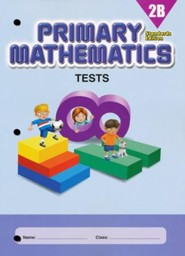 Primary Mathematics Tests 2B (Standards Edition)