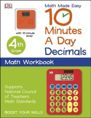 10 Minutes a Day: 4th Grade Decimals