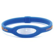 iPower Bracelet, Blue, Medium