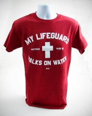 My Lifeguard Shirt, Red,  Large