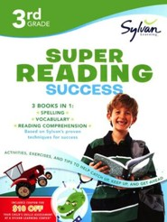 Third Grade Super Reading Success (Sylvan Super Workbooks)