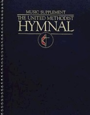 The United Methodist Hymnal Music Supplement Navy Blue Full Edition