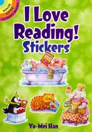 I Love Reading! Stickers