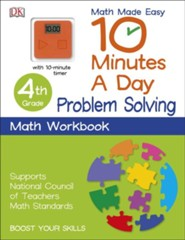 10 Minutes a Day: Problem Solving, Fourth Grade  -