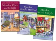 Amish Quilt Shop Mystery Series, Volumes 1-3