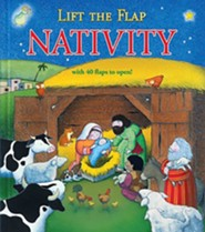 Lift-The-Flap Nativity  -     By: Allia Zobel-Nolan, Trace Moroney