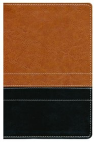 Imitation Leather Brown / Black