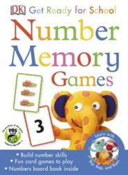 Get Ready For School: Number Memory Games  -