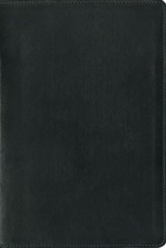 Genuine Leather Black Book