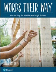Words Their Way: Vocabulary for Middle and High School Volume 2 Student Edition