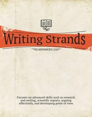 Writing Strands Advanced 1 & 2 Gr 9-12