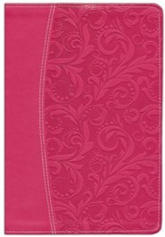 Imitation Leather Pink Book Red Letter Thumb Index
