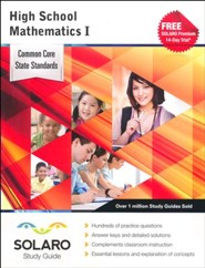Solaro Study Guide High School Mathematics 1