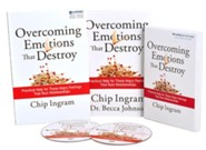 Overcoming Emotions That Destroy Study Kit (1 DVD Set, 1 Book, & 1 Study Guide)