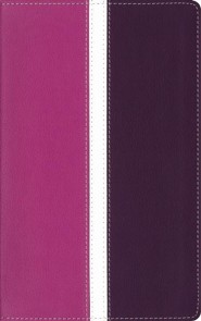 Imitation Leather Purple / Pink Book Black Letter Thumb Index