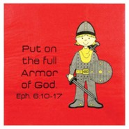 Armor Of God Napkins, Pack of 20