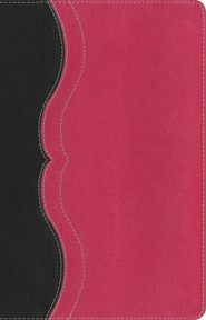 NIV, Quest Study Bible, Personal Size, Imitation Leather, Gray and Pink, Thumb Indexed
