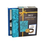 NKJV Graduation Kit for Grads, Blue