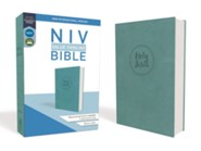 NIV Value Thinline Bible Blue, Imitation Leather