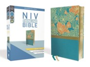 NIV Thinline Bible Giant Print Blue, Imitation Leather