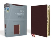Bonded Leather Burgundy Book Red Letter Thumb Index
