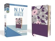 NIV Thinline Bible Purple, Imitation Leather