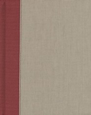 Hardcover Gray / Burgundy