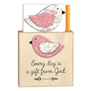 Every Day is a Gift from God Magnetic Note Holder