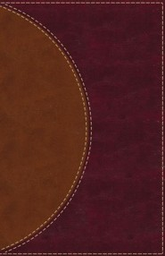 Imitation Leather Brown Thumb Index